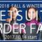 2018秋冬 ウエットスーツオーダーフェア開催の画像